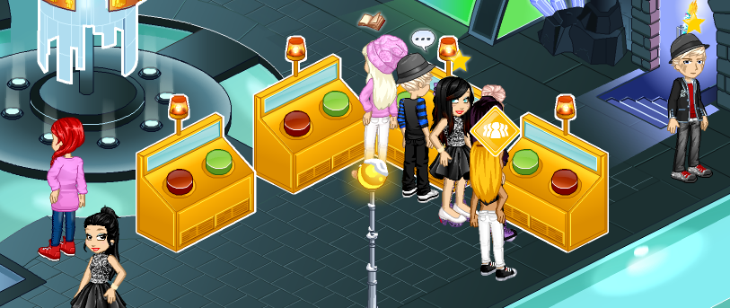 Gold voting podz in Central Woozworld